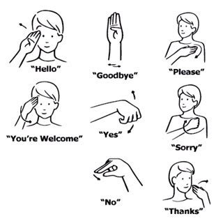 Research on language development shows that deaf adults